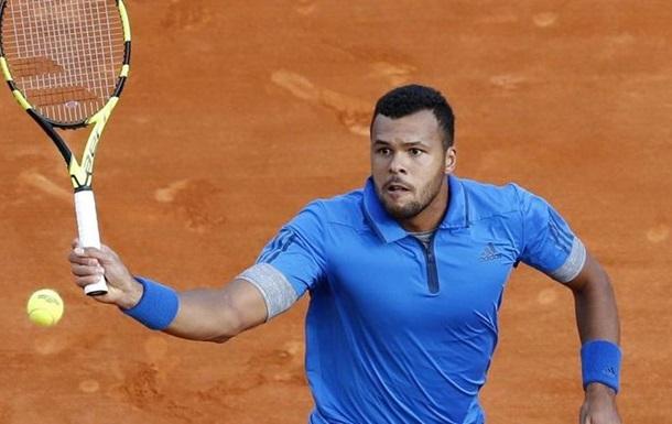 Ролан Гаррос (ATP). Тсонга снимается с турнира, Джокович и Феррер уверенно