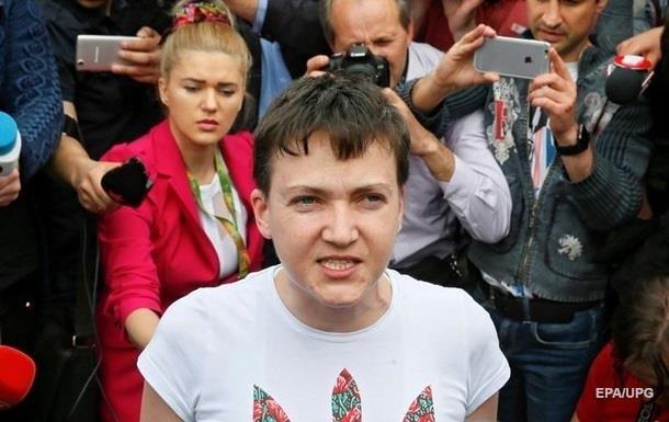 Савченко отказалась благодарить за помилование