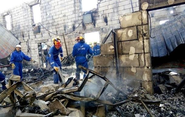 Пожар в  доме престарелых : задержан подозреваемый