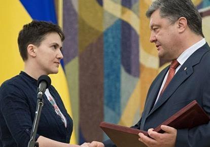 Порошенко нашел способ избавиться от Савченко-оппонента