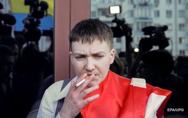 Савченко хочет принять участие всессии ПАСЕ вначале лета