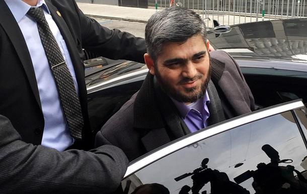 Главный переговорщик cирийской оппозиции уходит в отставку