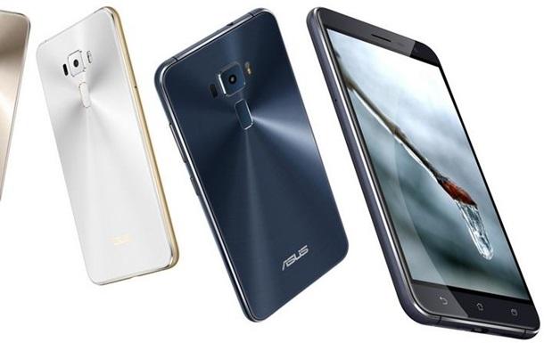 Asus представила три новых смартфона