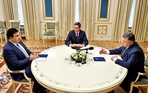 Порошенко оценил год губернаторства Саакашвили