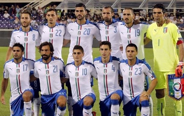 Остаточна заявка збірної Італії на Євро