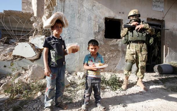 Россия доставила 16 тонн гуманитарки в Сирию