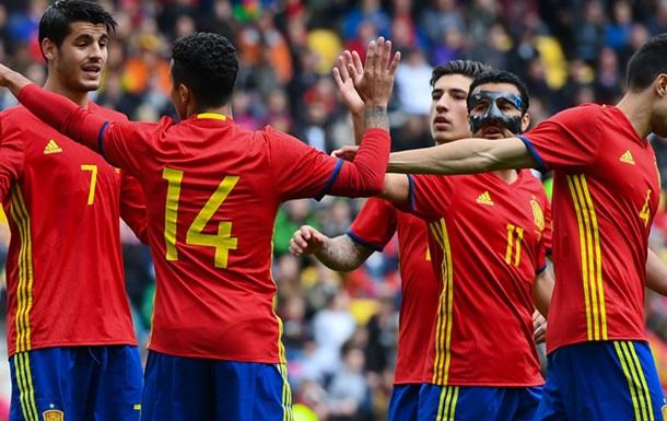 ТМ. Испания громит Южную Корею