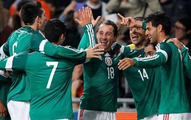 ТМ. Мексика одолела Чили