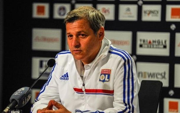 Лион продлил контракт с главным тренером