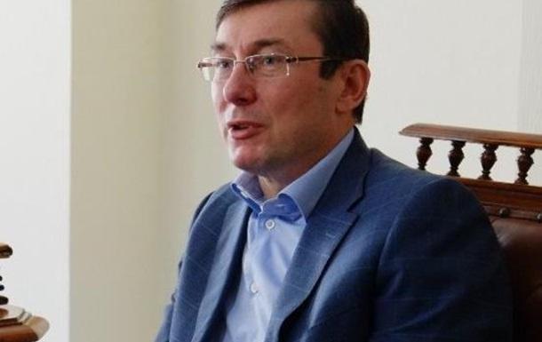 Казус Луценко