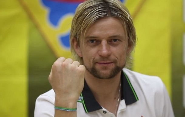 Тимощук - самый возрастной игрок в истории сборной Украины
