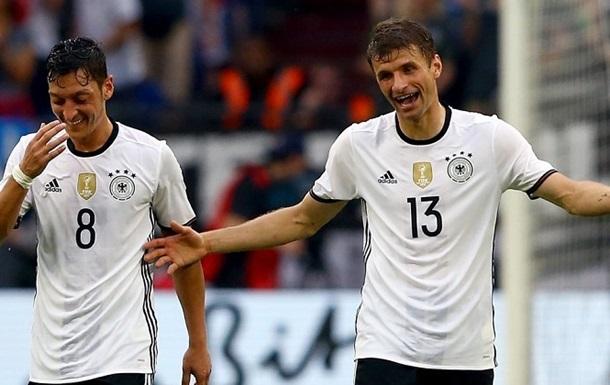 ТМ. Германия уверенно обыграла Венгрию