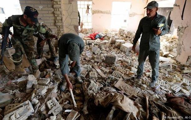 Иракские военные нашли близ Эль-Фаллуджи могилу с сотнями тел