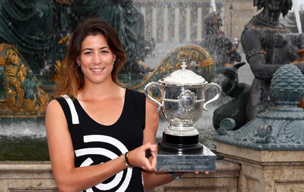 Рейтинг WTA. Мугуруса поднялась на второе место