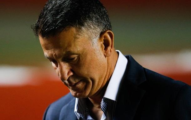 Уругваец Хименес оскорбил тренера Мексики