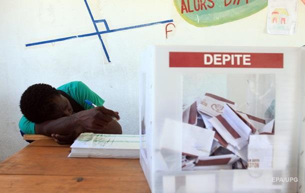 На Гаити отменили результаты президентских выборов