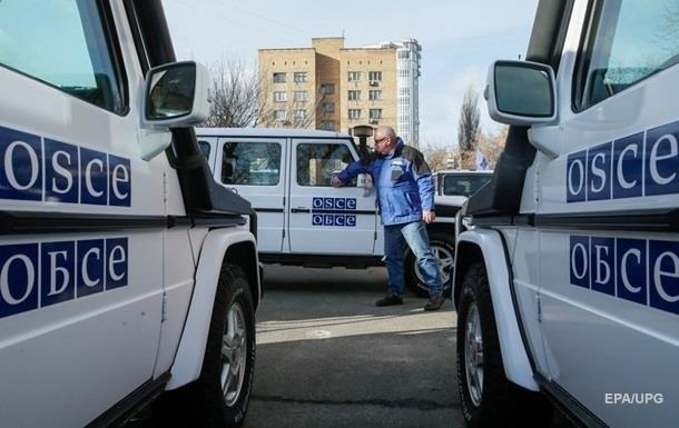 На Донбассе пропал водитель ОБСЕ