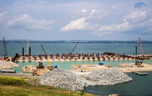 «Денег нет»: Российская Федерация остановила строительство Керченского моста