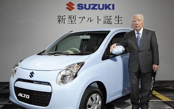 Главу Suzuki уволят из-за топливного скандала