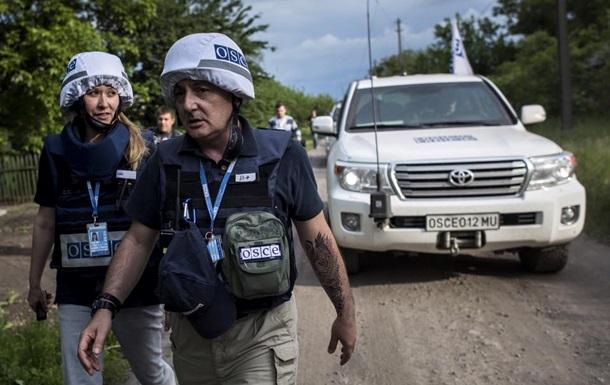 ОБСЕ: Ситуация в зоне АТО остается непредсказуемой