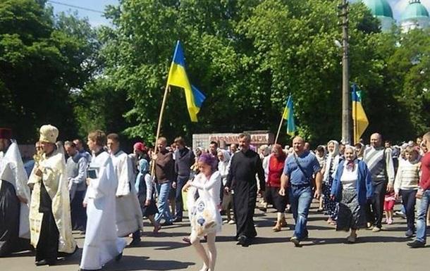 На Черниговщине хотели сорвать крестный ход УПЦ