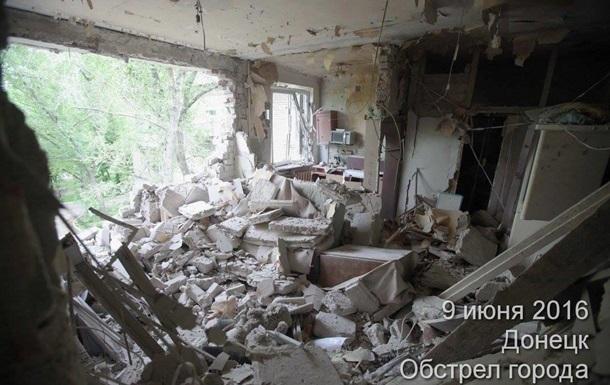Обстрел Донецка: фото новых разрушений