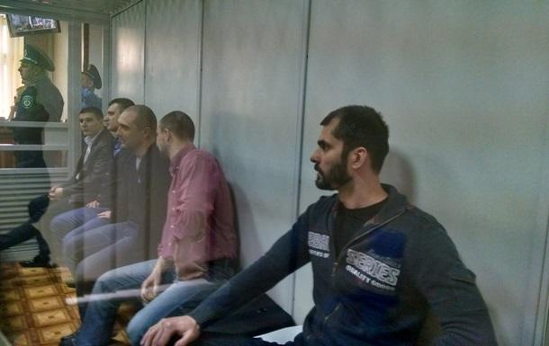 Пятерых экс-беркутовцев оставили в СИЗО до августа