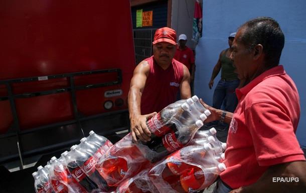 Coca-Cola відновлює роботу підприємств у Венесуелі