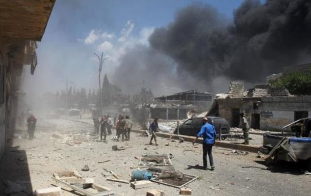Війна у Сирії: при авіаударах по Ідлібу загинуло 20 осіб