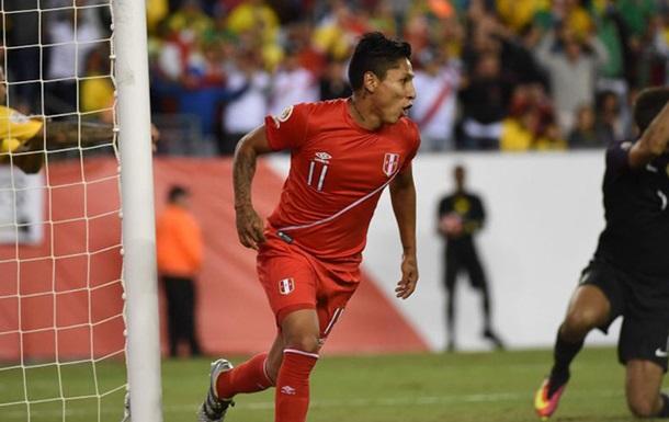 Форвард сборной Перу утверждает, что забил чистый гол в ворота Бразилии