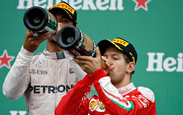 Формула-1. Феттель: Худшим моментом гонки были чайки-самоубийцы