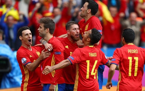 Сборная Испании не проигрывает на Евро уже 12 лет