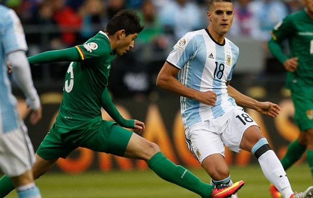 Аргентинцы владели мячом 86% времени в матче против Боливии