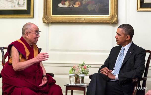 Обама провів закриту зустріч з Далай-ламою