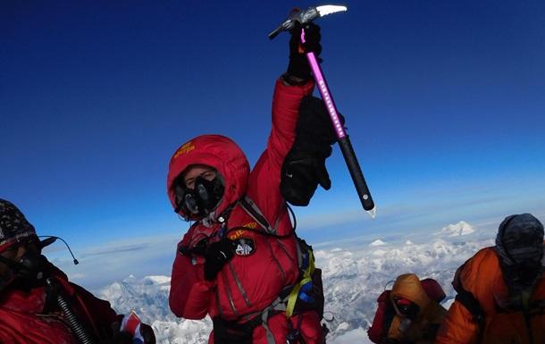 Блондинка на Эвересте. Интервью с первой украинкой, покорившей вершину