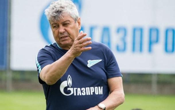 Луческу провел первую тренировку Зенита