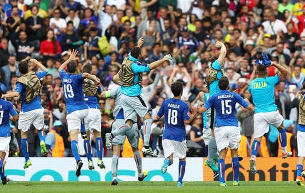 Эдер - лучший игрок матча Италия - Швеция