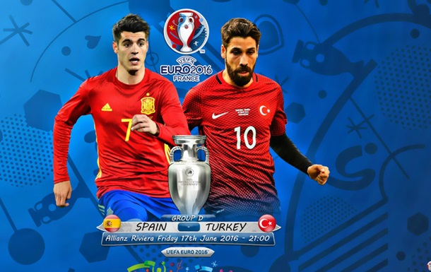 Іспанія - Туреччина: стартові склади