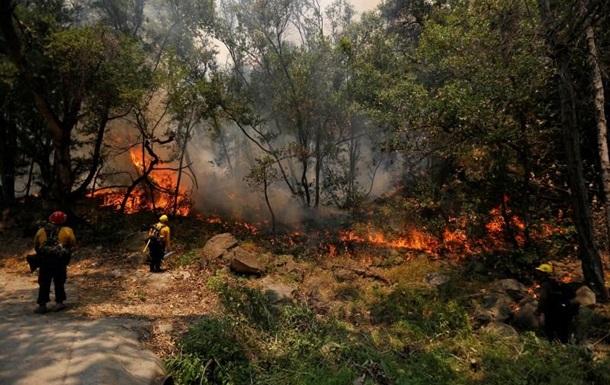 Масштабні пожежі в Каліфорнії: евакуйовані сотні компаній