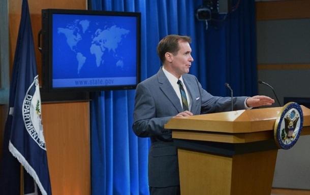 США приветствуют продление санкций против Крыма