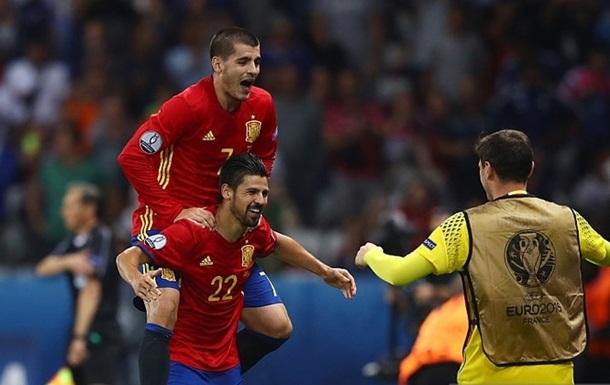 Іспанія легко розбирається з Туреччиною