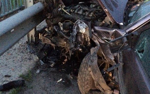 Под Львовом столкнулись пять автомобилей