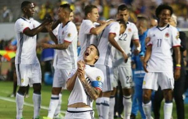 Копа Америка. Колумбия выходит в полуфинал