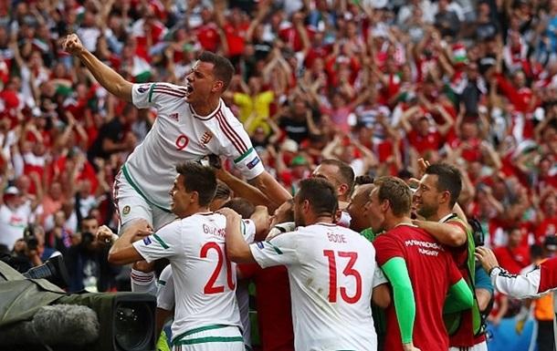 Ісландія поступилася перемогою Угорщині