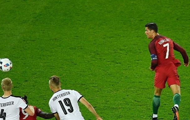 Австрия выстояла в матче с Португалией