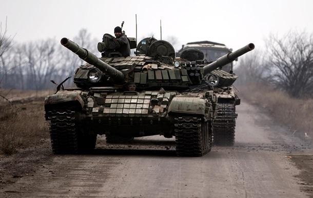 Сутки в АТО: обстрелы из минометов и танков