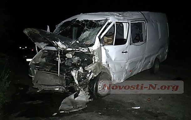 ДТП в Николаевской области: пострадали 11 человек