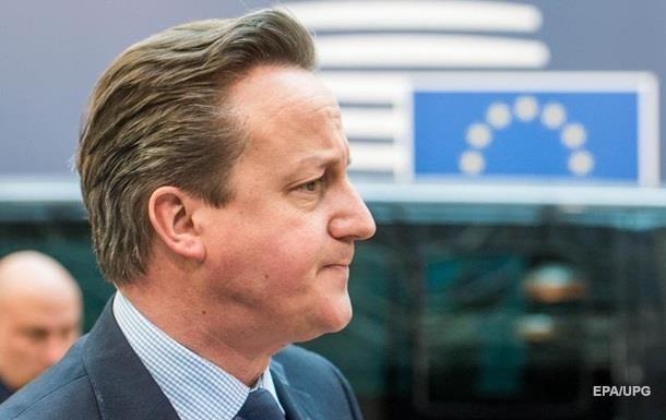 Кэмерон о выходе из ЕС: Назад пути не будет