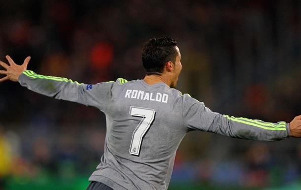 Роналду автор лучшего гола Лиги чемпионов 2015-2016