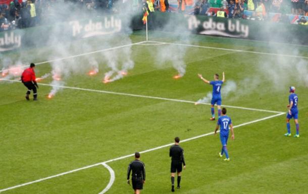 Хорватские болельщики готовят беспорядки в матче против Испании